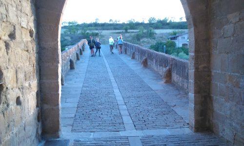 Puente la Reina – El pajarito e la Virgen